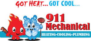 911 Mechanical, Inc. Logo